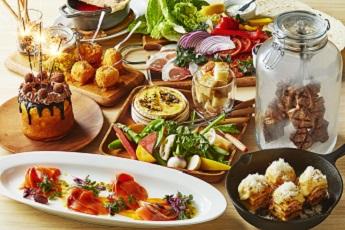【6/28まで】レディース限定の大皿コース「Piatto felice」をご用意。美味しい料理に会話を弾ませて♪