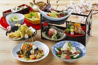 【5月19日まで】旬の食材を使用した、春らしい色とりどりのお料理をお楽しみください